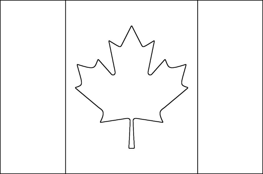 100 dessins de coloriage drapeau imprimer sur laguerche - Drapeau du canada a colorier ...