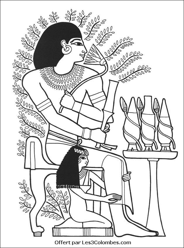 Coloriage En Ligne Egypte.75 Dessins De Coloriage Egypte A Imprimer Sur Laguerche Com Page 1
