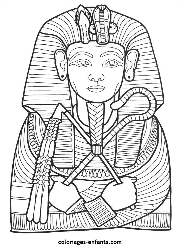 Dessin egypte imprimer 20158 - Image coloriage ...