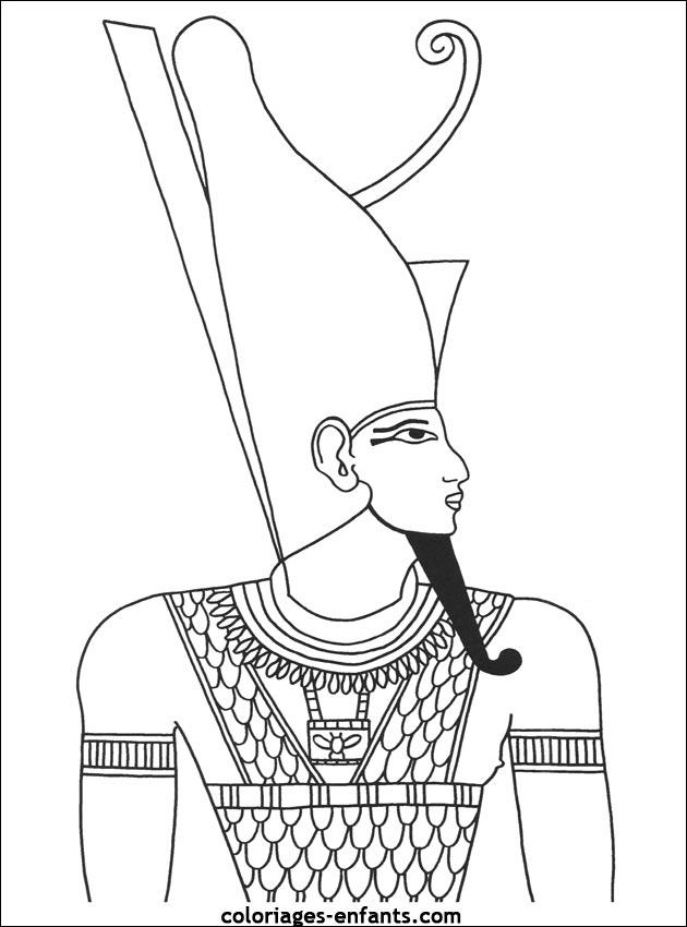Coloriage En Ligne Egypte.75 Dessins De Coloriage Egypte A Imprimer Sur Laguerche Com Page 4