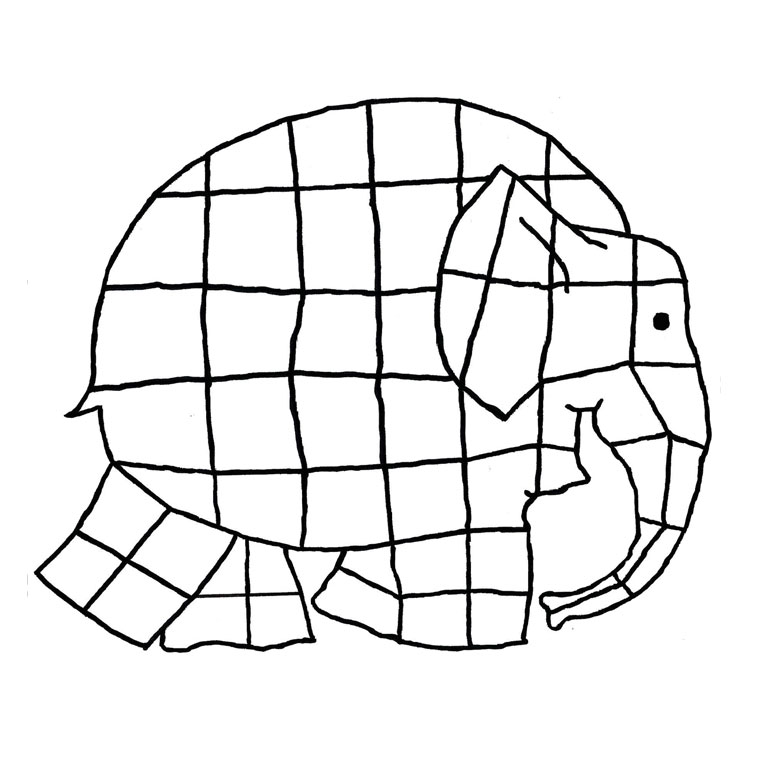 Sélection de coloriage éléphant à imprimer sur LaGuerche ...