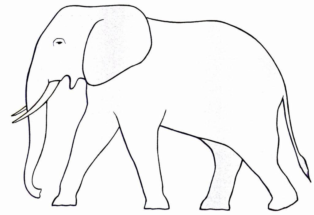 S lection de coloriage l phant imprimer sur page 4 - Dessin d un elephant ...
