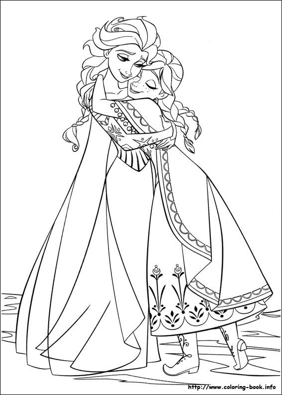 image 24266 coloriage elsa gratuit - Dessin Elsa
