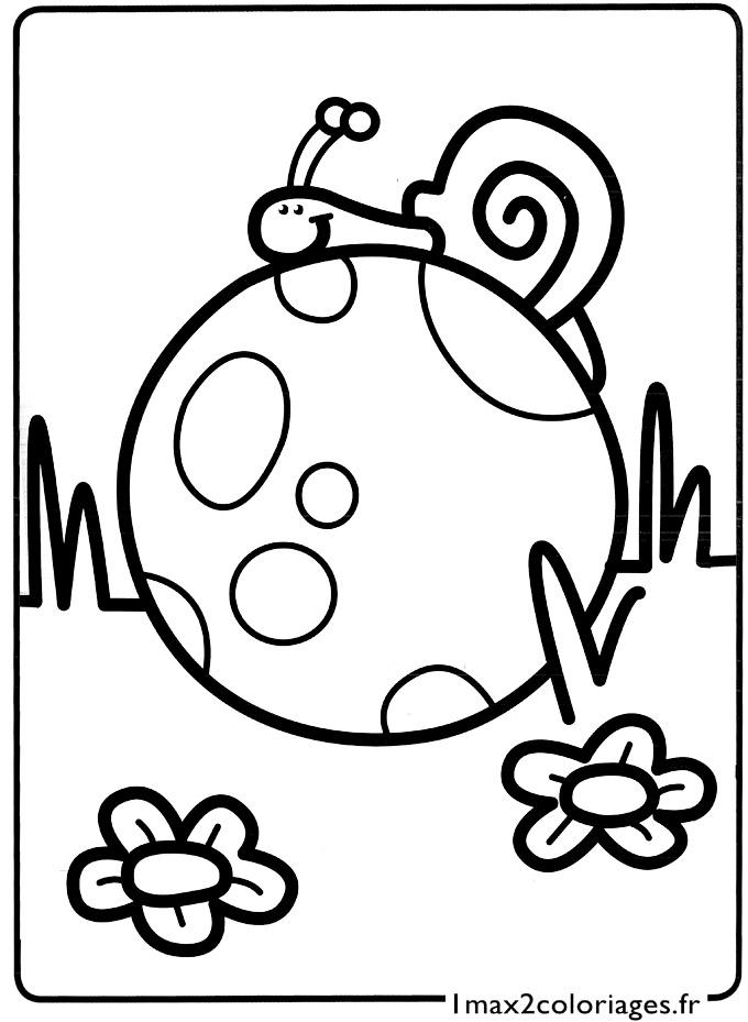 Coloriage Descargot.51 Dessins De Coloriage Escargot A Imprimer Sur Laguerche Com Page 2