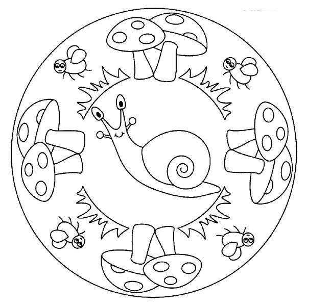 51 dessins de coloriage escargot imprimer sur page 2 - Mandala garcon ...