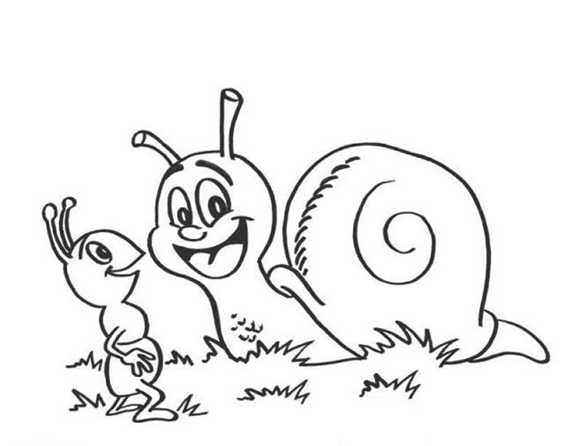 51 Dessins De Coloriage Escargot A Imprimer Sur Laguerche Com Page 3