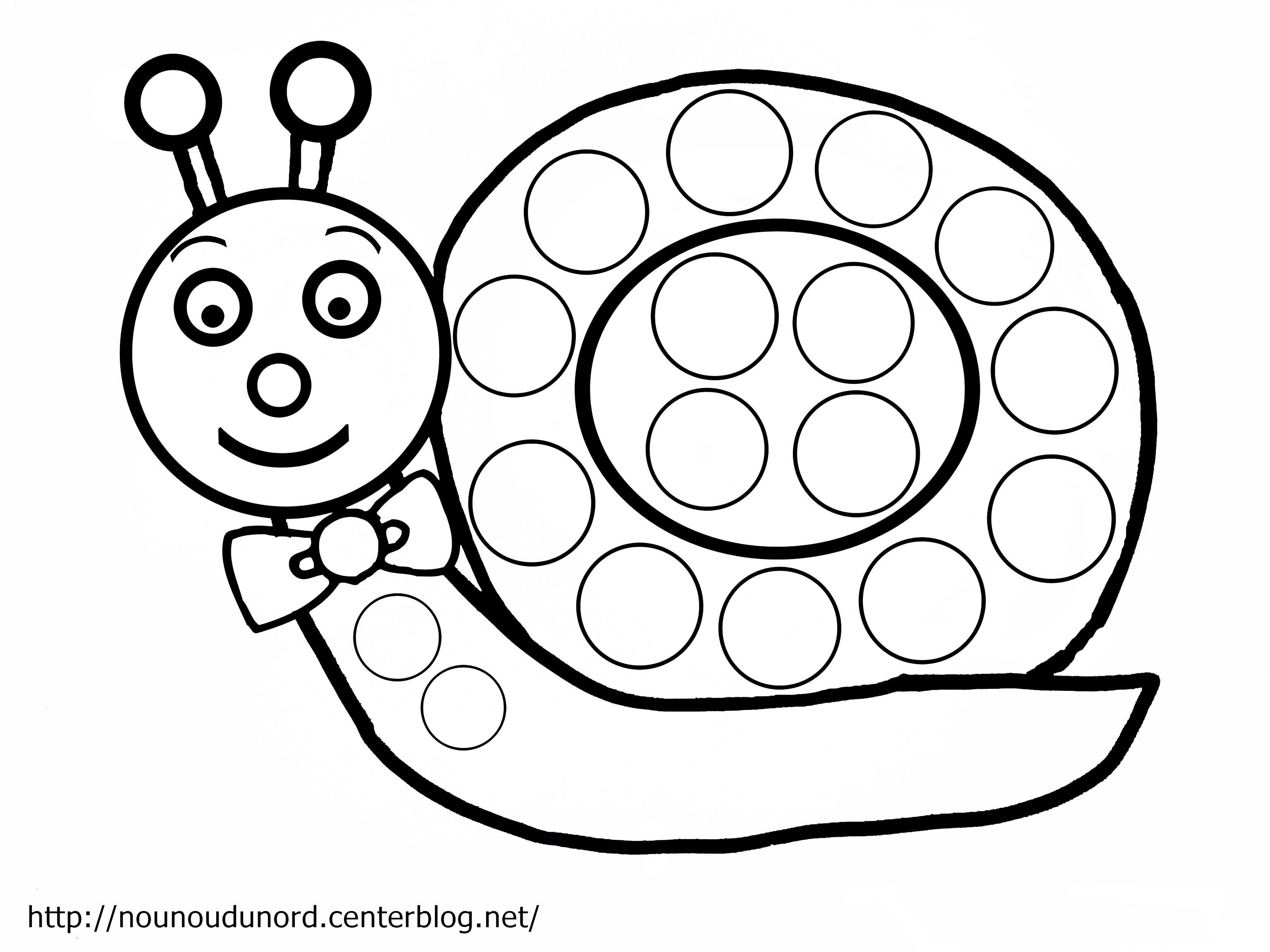 Hugo Lescargot Coloriage Nature.Coloriage204 Coloriage Escargot A Imprimer