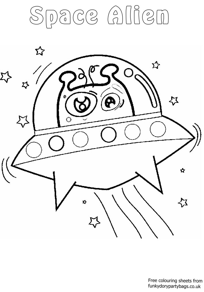 Coloriage Dessin Et L Extraterrestre.74 Dessins De Coloriage Extraterrestre A Imprimer Sur Laguerche Com