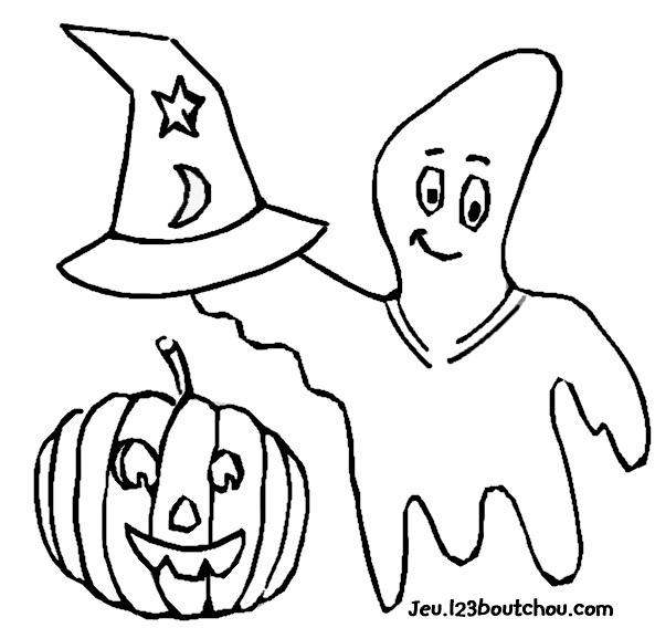 40 dessins de coloriage fantôme à imprimer sur laguerche com page 4