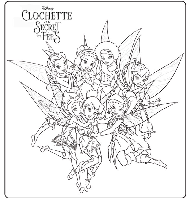 S lection de dessins de coloriage f e clochette imprimer sur page 9 - Dessins fee clochette ...