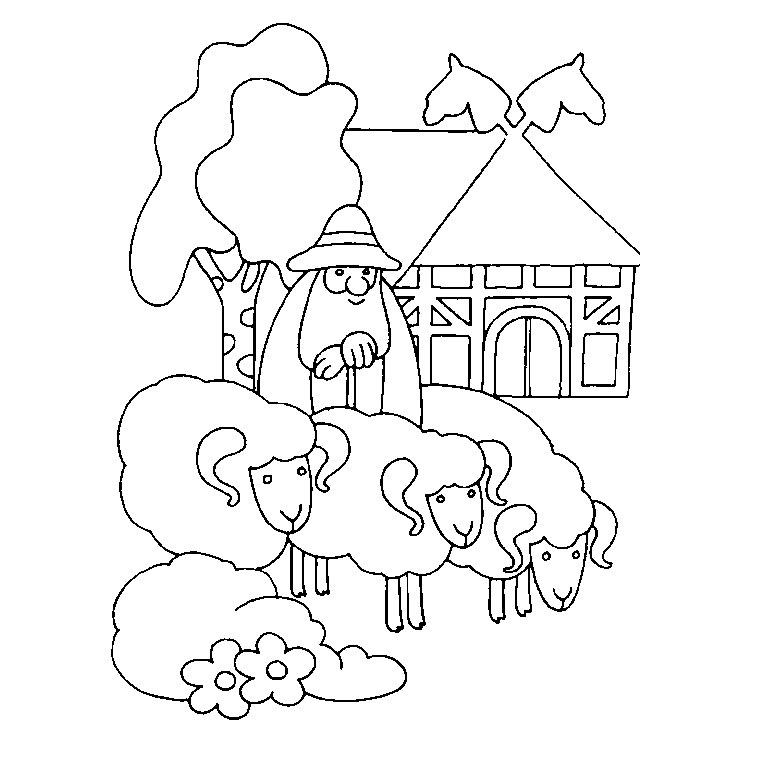 S lection de dessins de coloriage fermier imprimer sur - Coloriage fermier ...