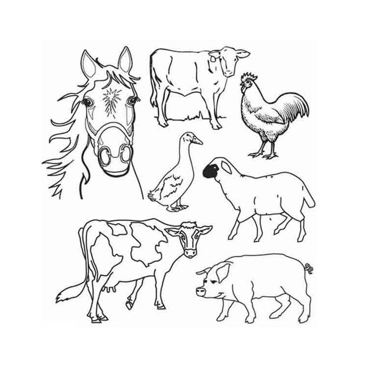 S lection de dessins de coloriage fermier imprimer sur page 1 - Coloriage de fermier ...