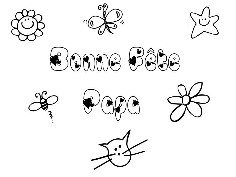 S lection de dessins de coloriage f tes des p res imprimer sur page 2 - Dessin fete des peres a imprimer ...