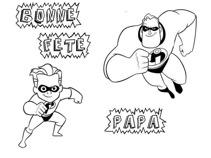 S lection de dessins de coloriage f tes des p res imprimer sur page 2 - Idee dessin fete des peres ...