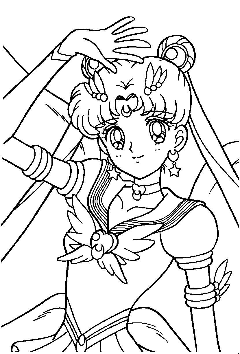 63 dessins de coloriage fille manga imprimer sur - Coloriage image ...