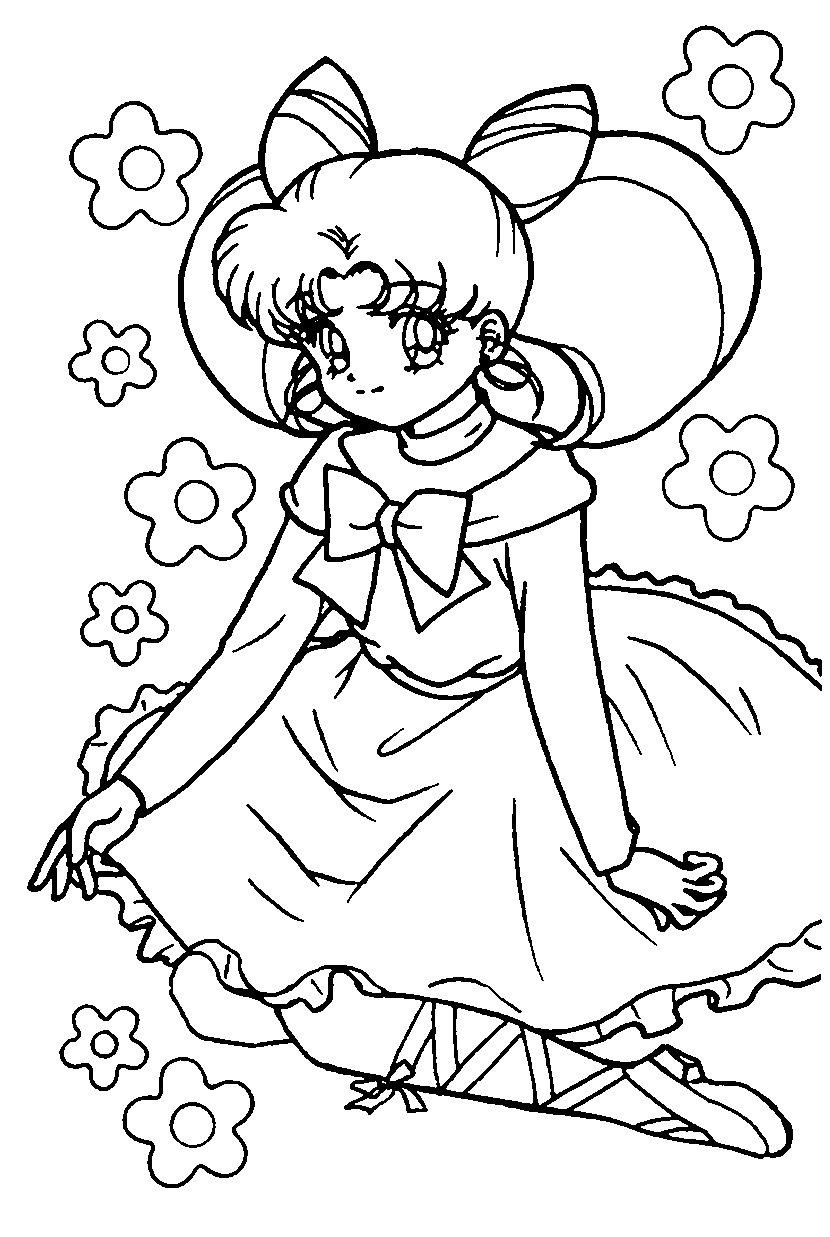 63 dessins de coloriage fille manga à imprimer sur LaGuerche.com - Page 3