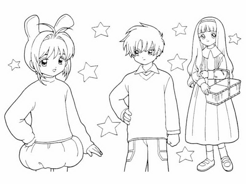 63 Dessins De Coloriage Fille Manga A Imprimer Sur Laguerche Com