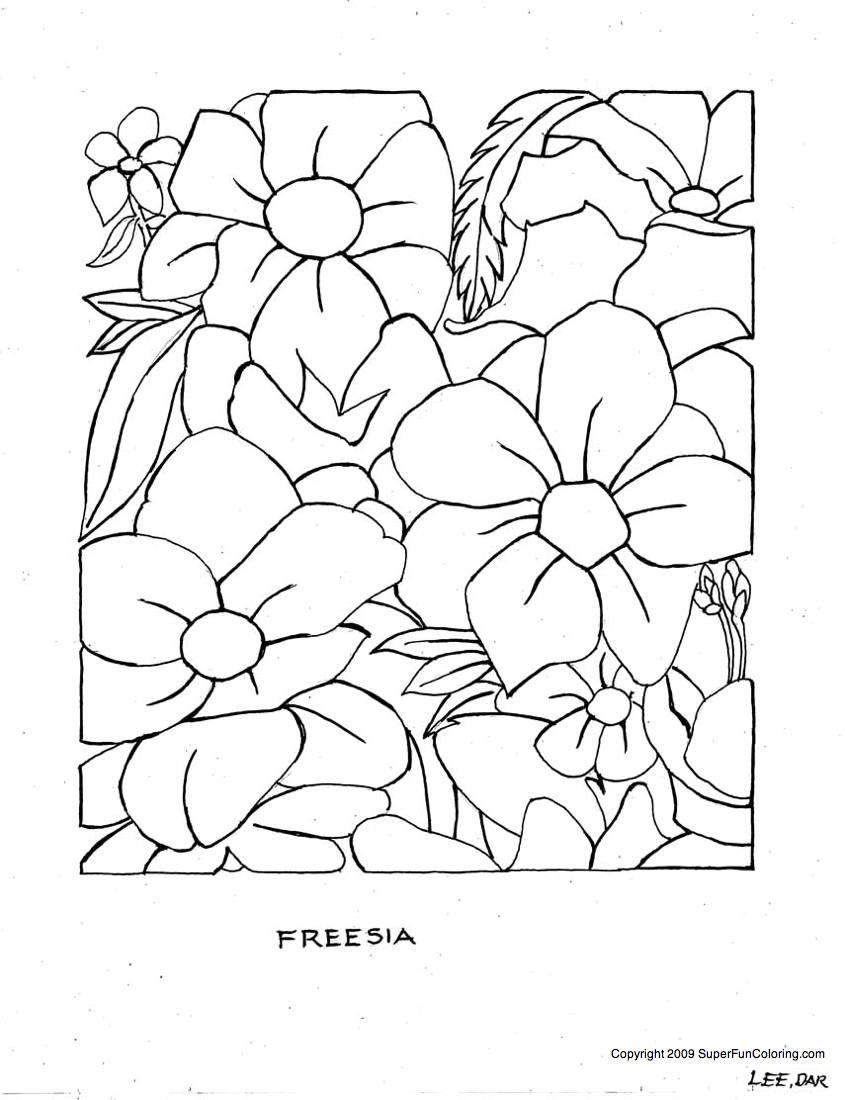 fleur dessins à colorier fleurs coloriage s