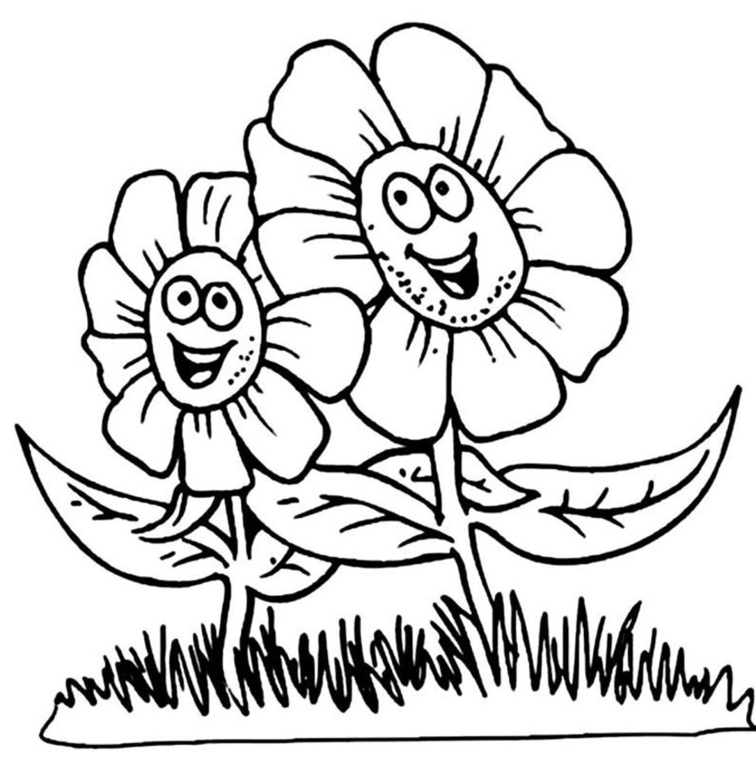 fleur dessins à colorier pour enfants coloriage lab