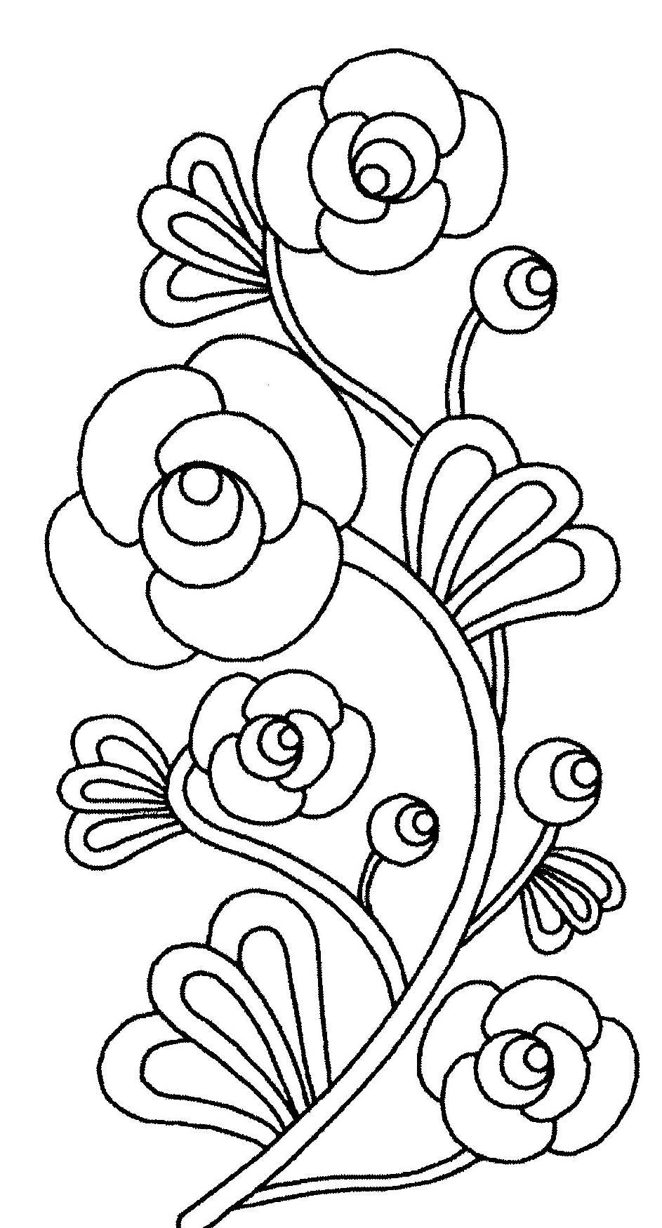 coloriage fleurs Coloriage fleur a imprimer