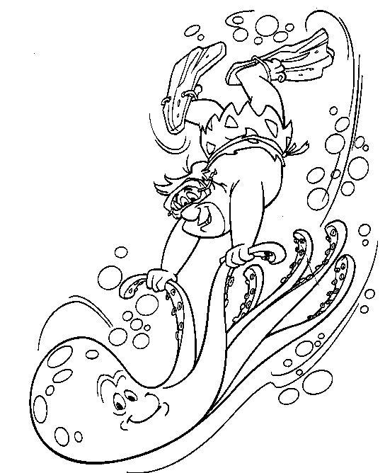 Coloriage flintstones gratuit - dessin a imprimer #20