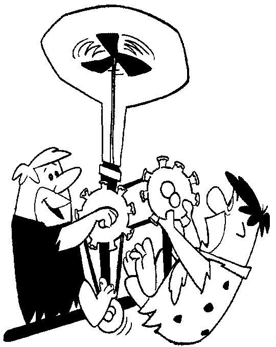 Coloriage flintstones gratuit - dessin a imprimer #86