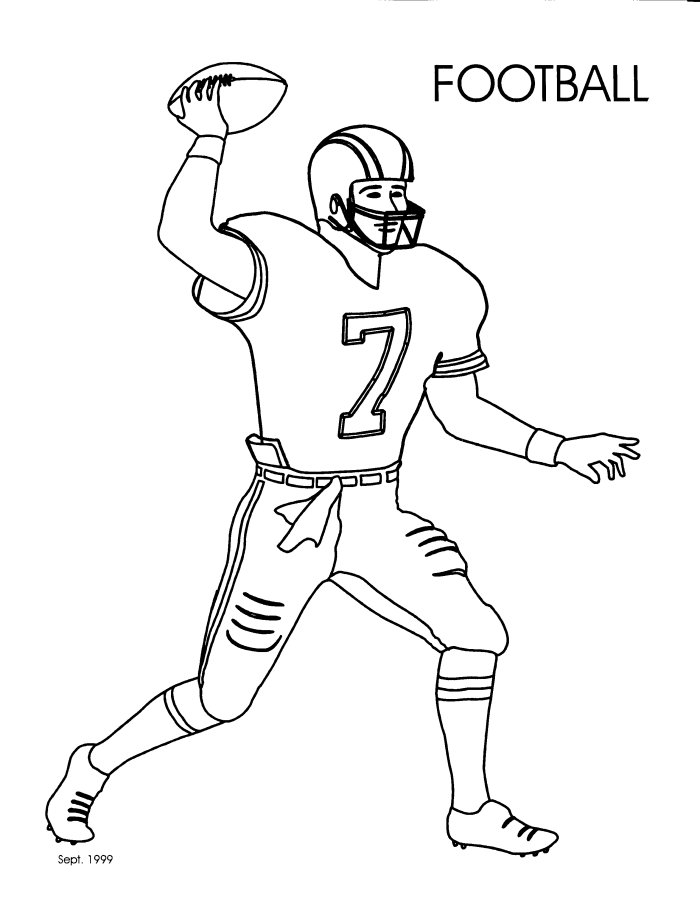 Image #17158 - Coloriage football gratuit