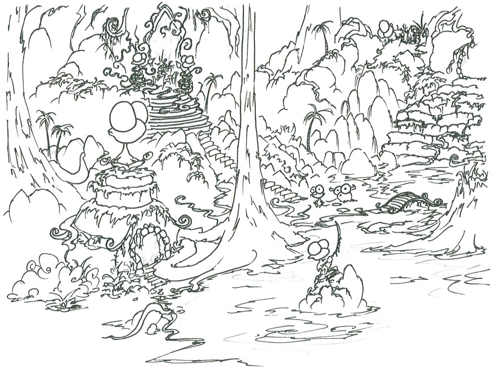 26 dessins de coloriage for t imprimer sur for Jungle book coloring pages for kids