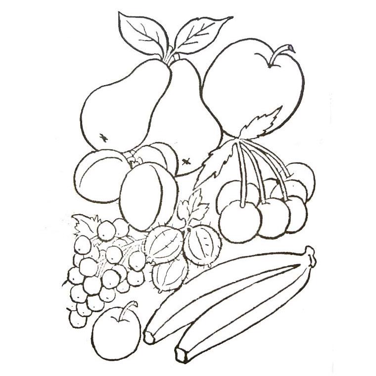 69 dessins de coloriage fruit à imprimer sur LaGuerche.com - Page 2