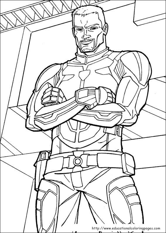 Image #24498 - Coloriage gi joe gratuit