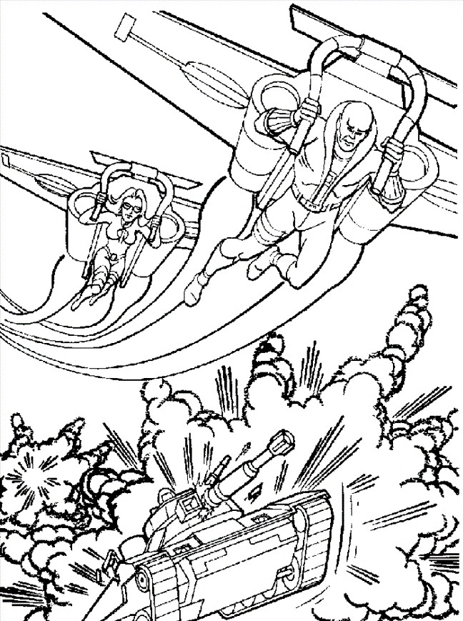 Image #24499 - Coloriage gi joe gratuit