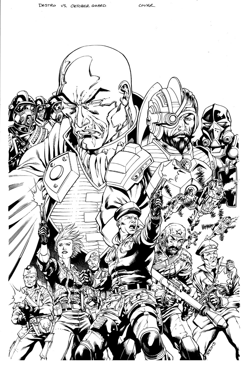 Image #24500 - Coloriage gi joe gratuit