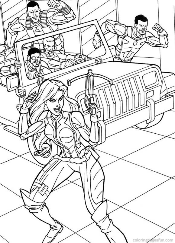 Image #24501 - Coloriage gi joe gratuit