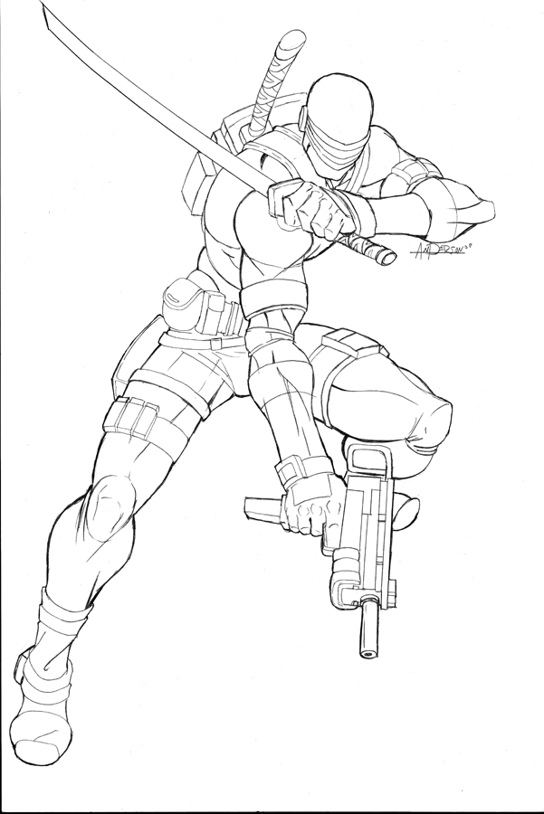Image #24506 - Coloriage gi joe gratuit