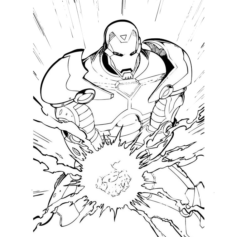 gratuit download iron man coloriage hd wallpaper