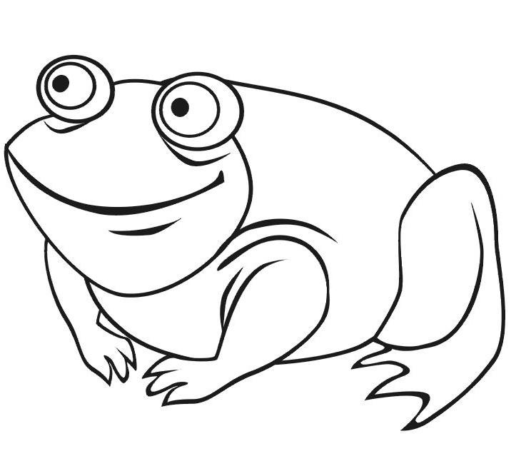 coloriage a colorier du net colorier grenouille