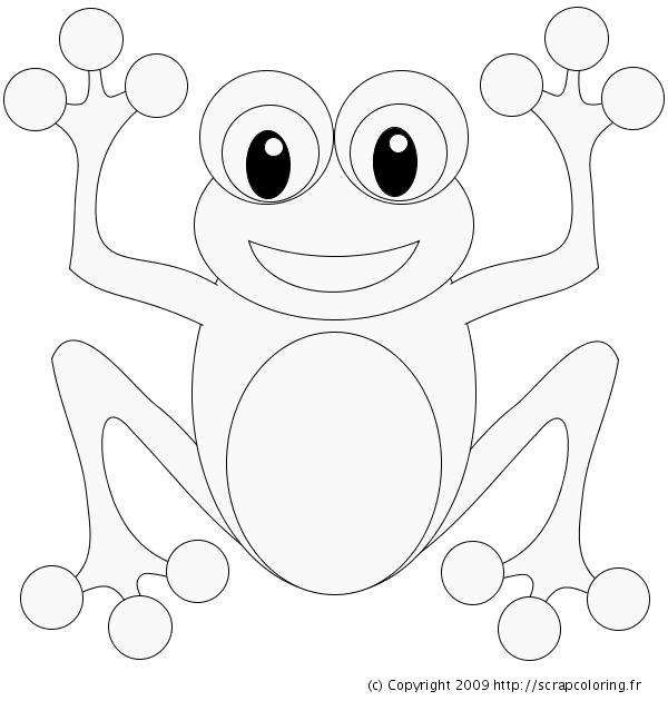 73 dessins de coloriage grenouille imprimer sur page 4 - Coloriage de grenouille ...