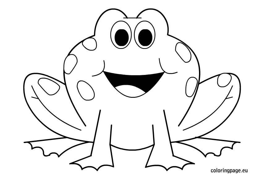 frog dessin à colorier dessins à colorier gallery
