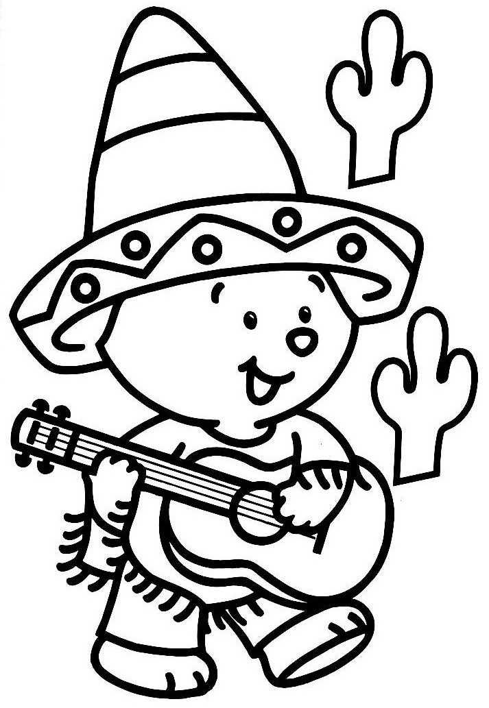 34 dessins de coloriage guitariste imprimer sur page 2 - Image de dessin anime gratuit ...