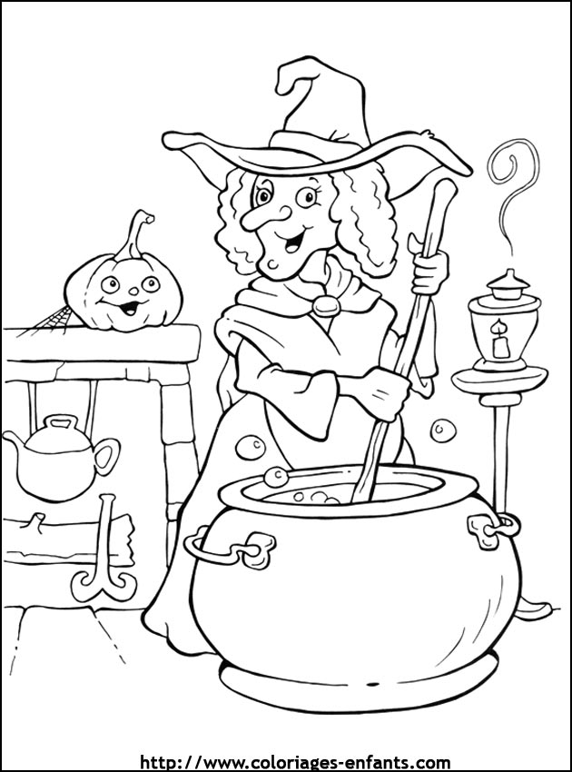 dessin 10430 dessin gratuit halloween a imprimer et colorier