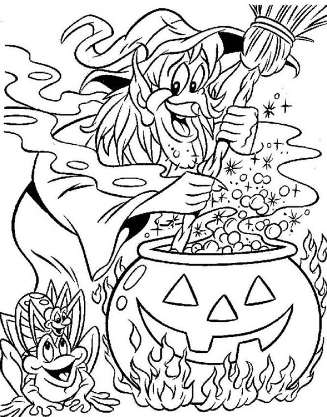 dessin 10442 dessin gratuit de halloween a colorier