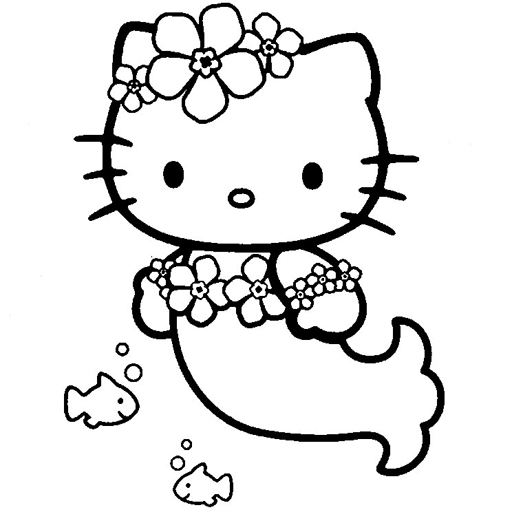 147 dessins de coloriage hello kitty imprimer sur - Hello kitty imprimer ...