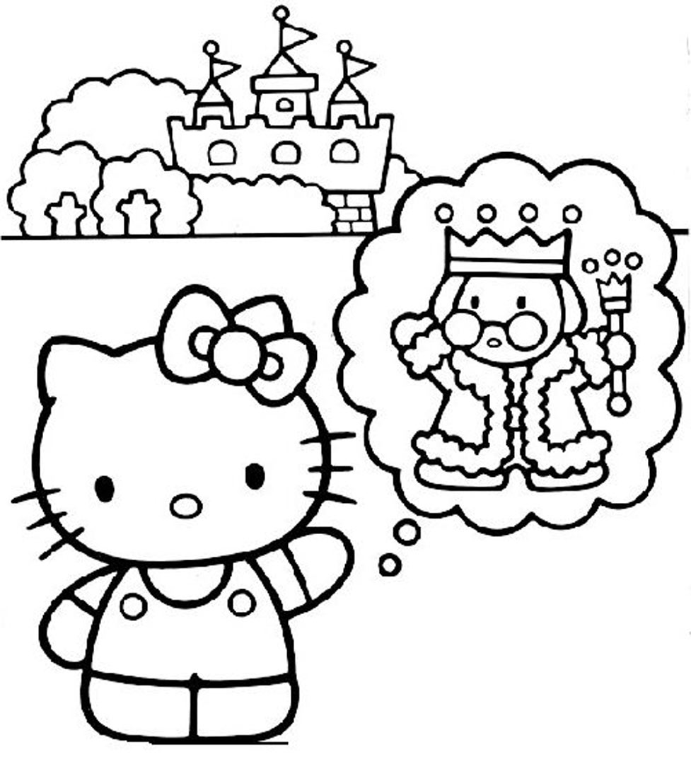 147 dessins de coloriage hello kitty imprimer sur page 1 - Hello kitty a imprimer ...