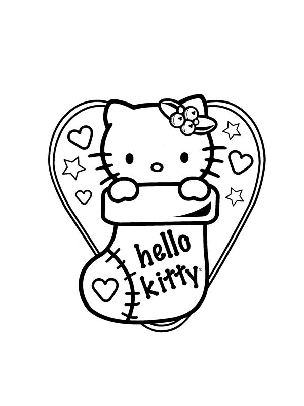 Coloriage hello kitty gratuit - dessin a imprimer #131