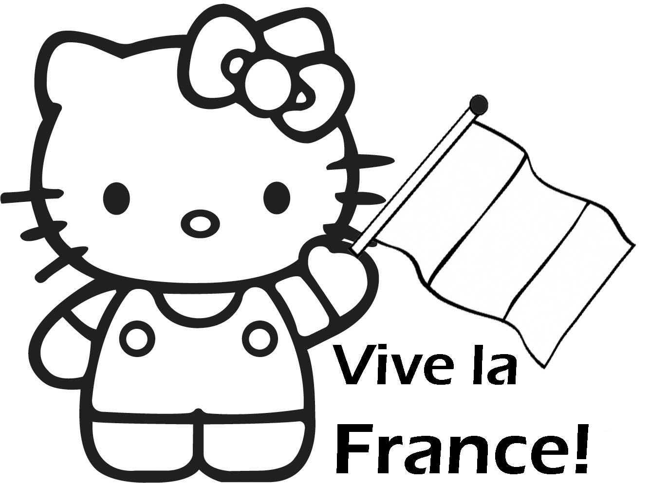 Coloriage hello kitty gratuit - dessin a imprimer #140