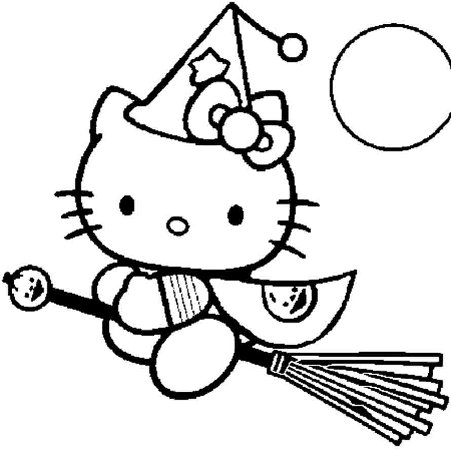 Coloriage hello kitty gratuit - dessin a imprimer #168