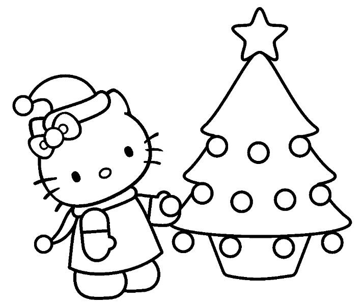 Coloriage hello kitty gratuit - dessin a imprimer #170