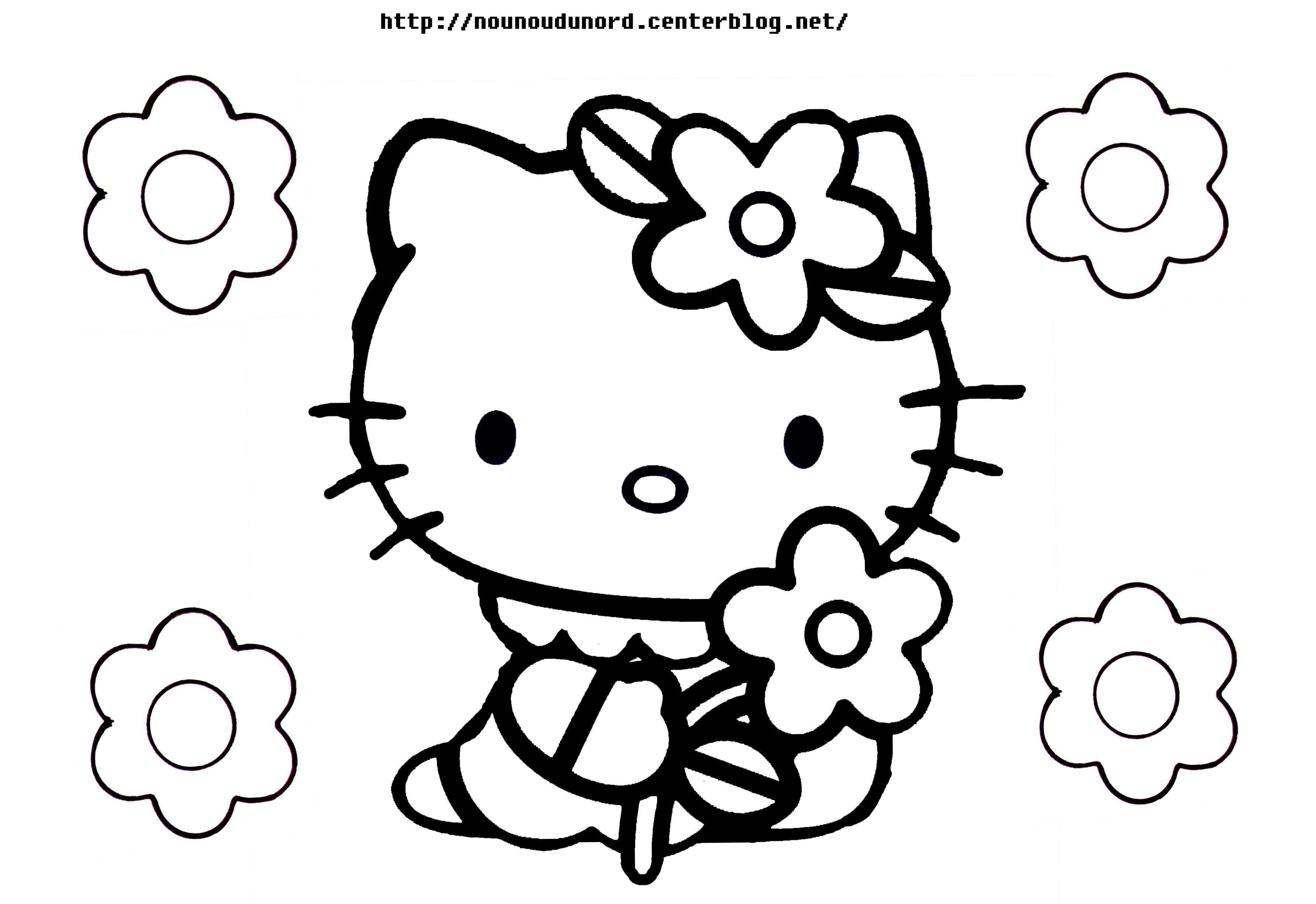 147 dessins de coloriage hello kitty imprimer sur page 6. Black Bedroom Furniture Sets. Home Design Ideas