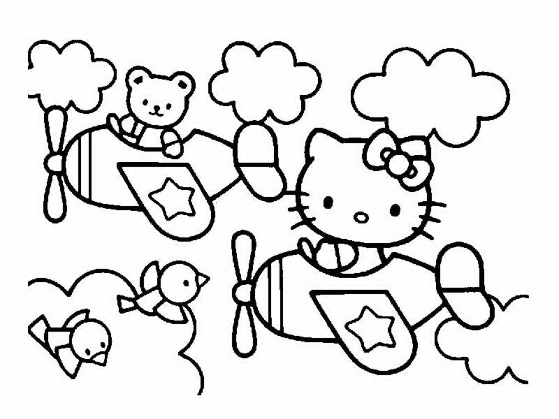 Coloriage hello kitty gratuit - dessin a imprimer #230