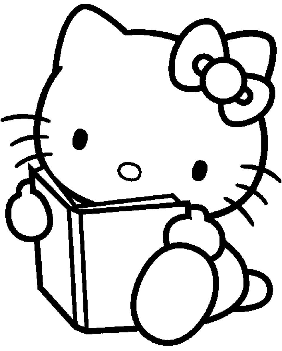 Coloriage hello kitty gratuit - dessin a imprimer #28